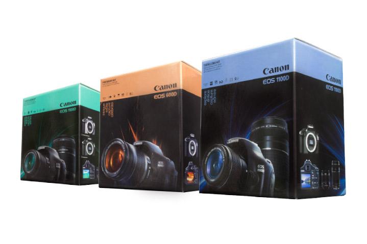 Canon DSLR Kit Packaging