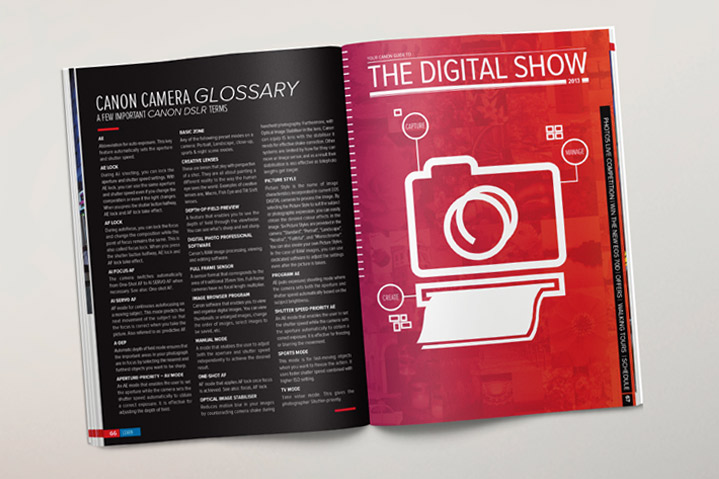 Canon Digital Show Magazine