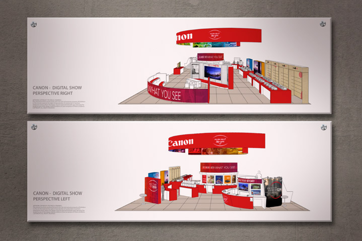 Canon Digital Show Exhibition