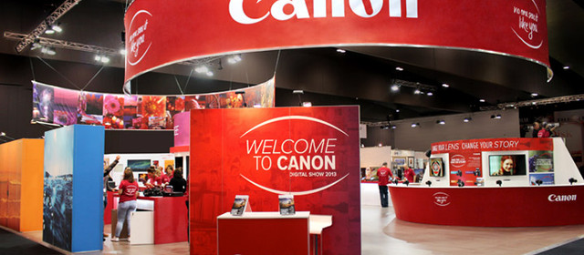 Canon at The Digital Show 2013