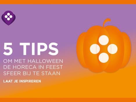 5 tips om met Halloween de horeca in feest sfeer bij te staan