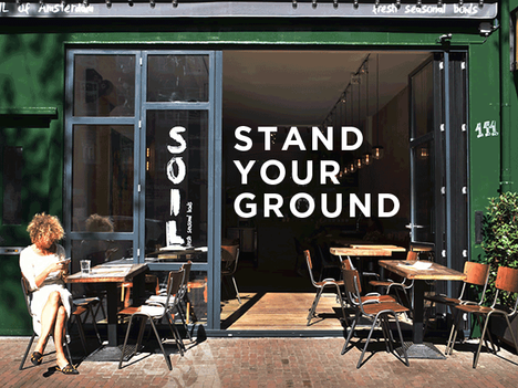 Stand your ground, ook in lastige tijden