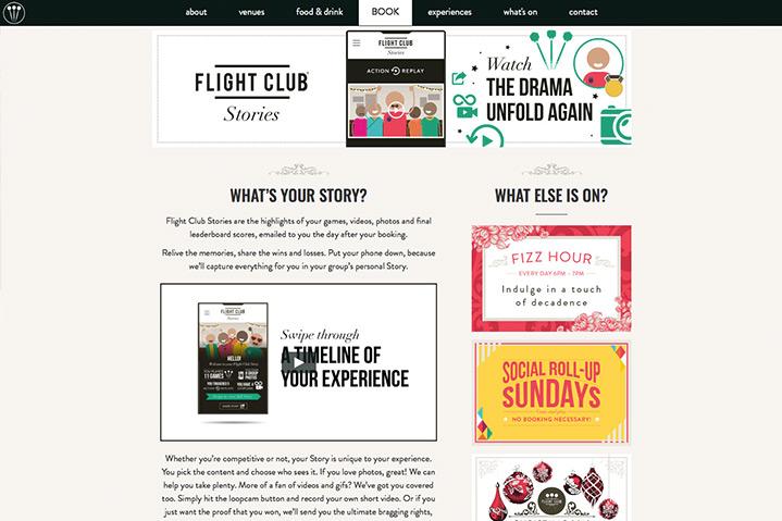 Flight Club website