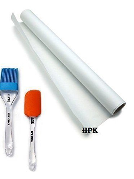 HPK BUTTER PAPER SHEET ROLL WITH BRUSH AND SPATULA