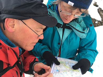 Develop your skills to navigate in open country