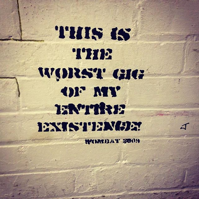 #wombat #gig #worstgig #kentishtown #for