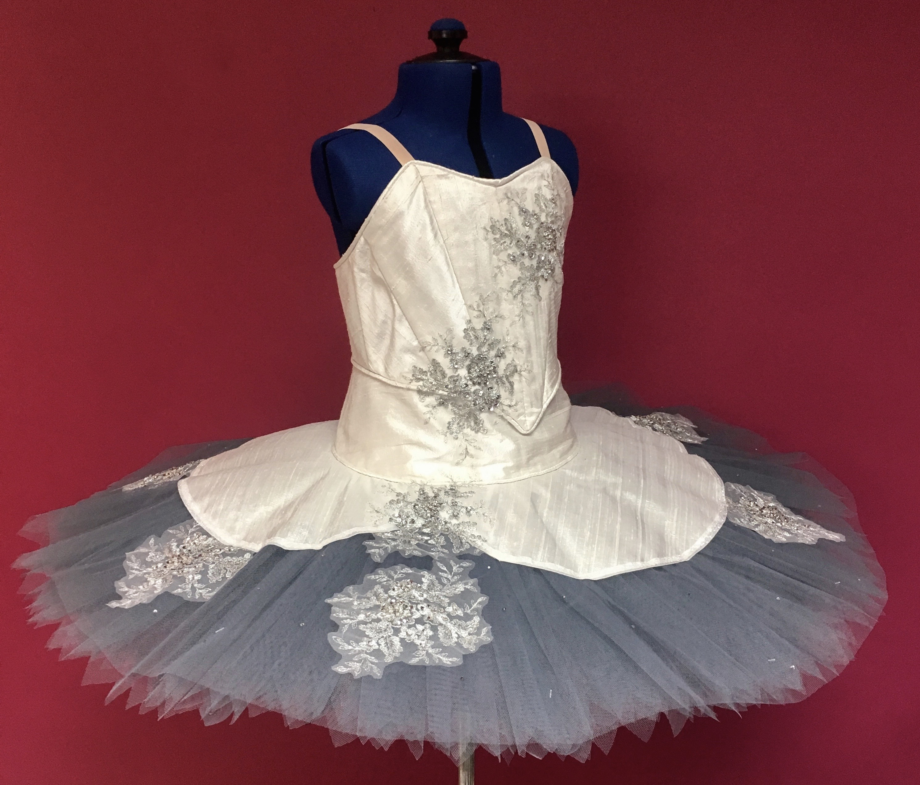 Silk panelled 9 layer classical tutu