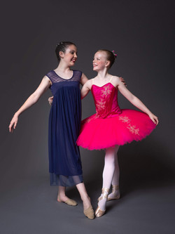 Lyrical and classical ballet
