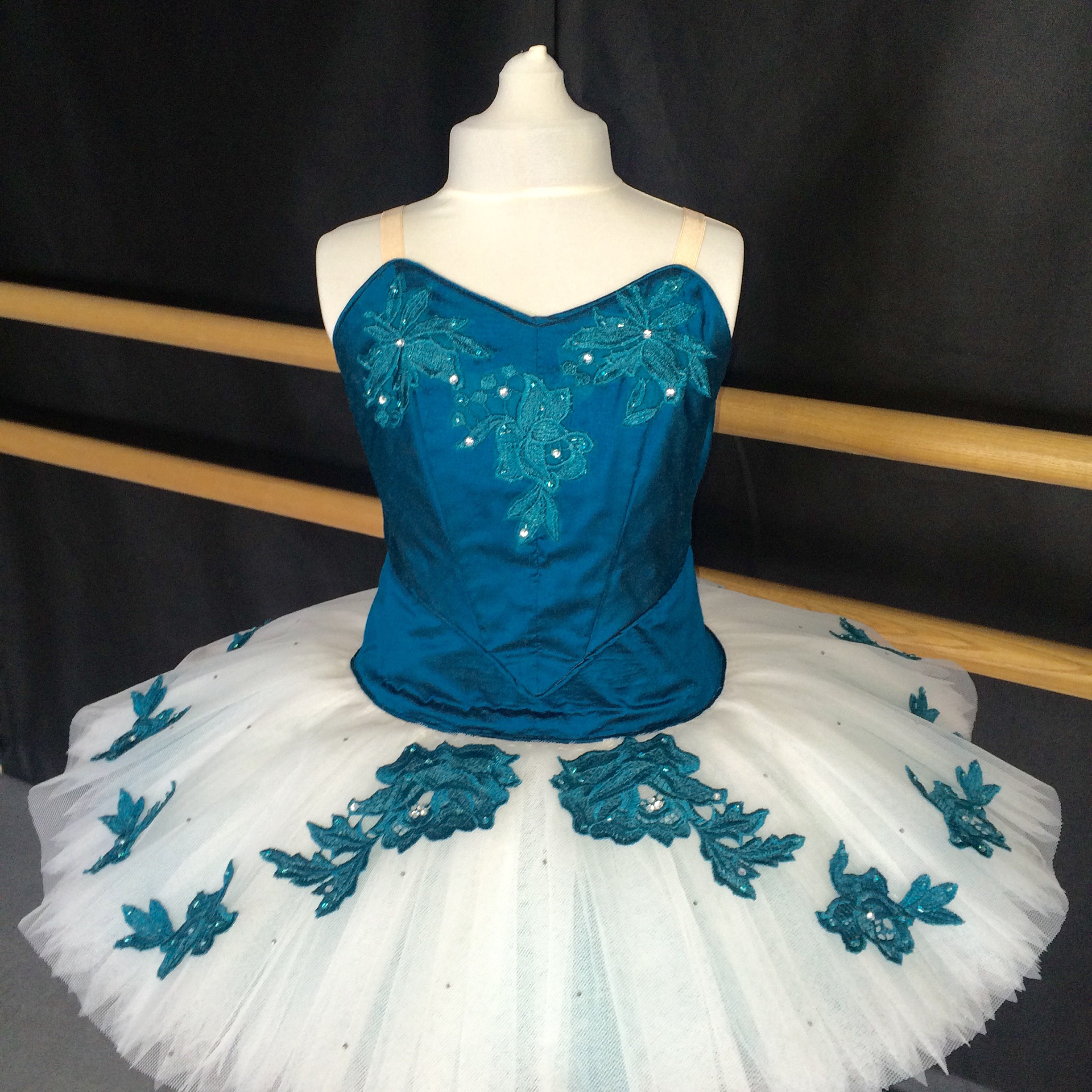 Sophistcated Teal Senior Tutu