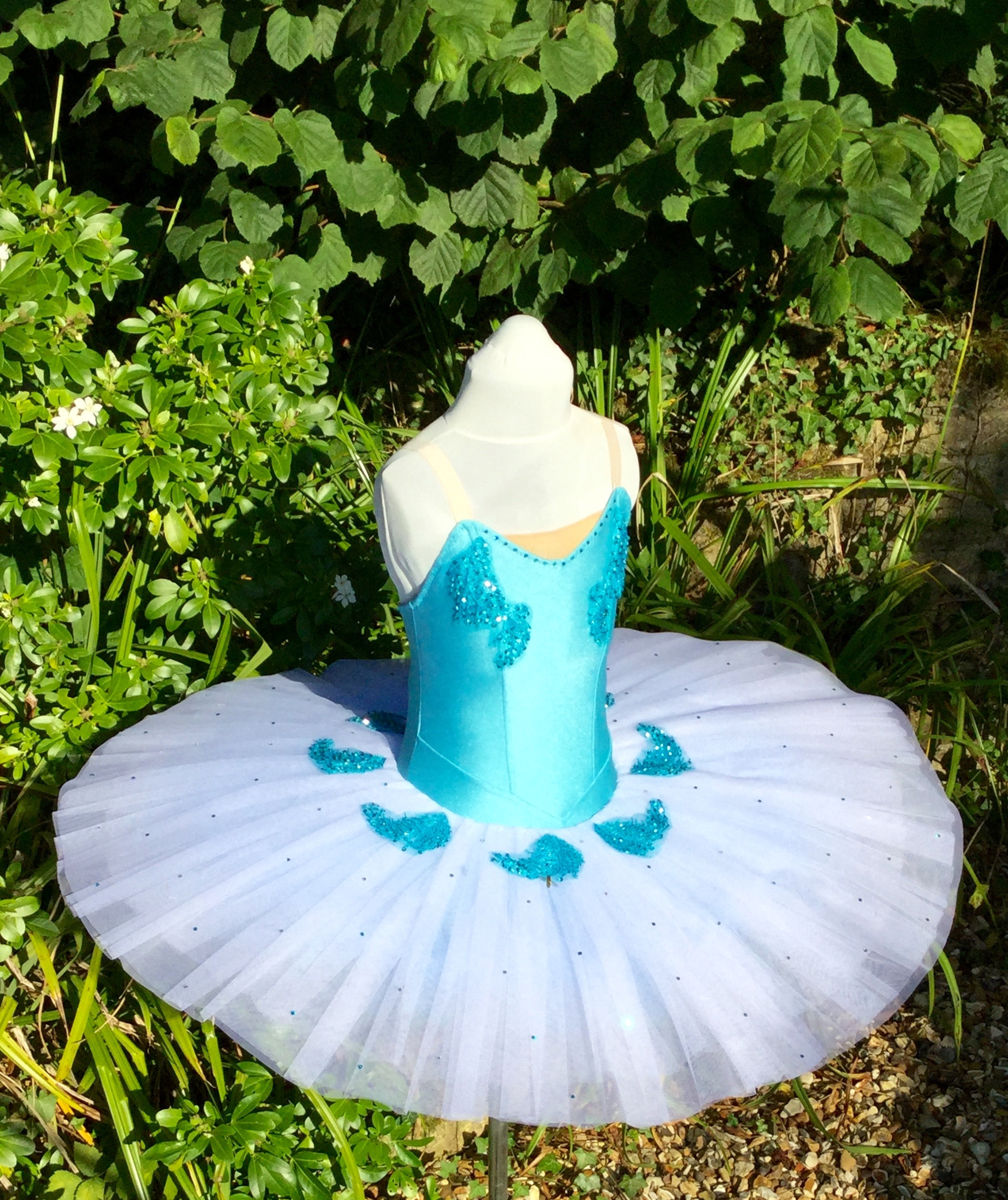 Stretch hooped tutu