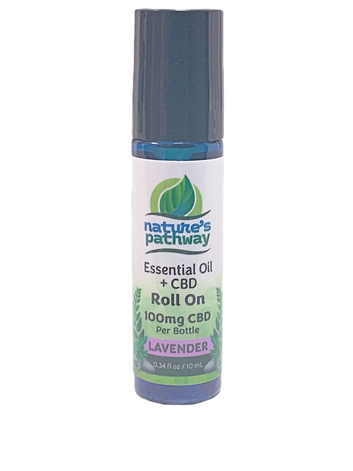Nature's Pathway Essential Oil CBD Roll on