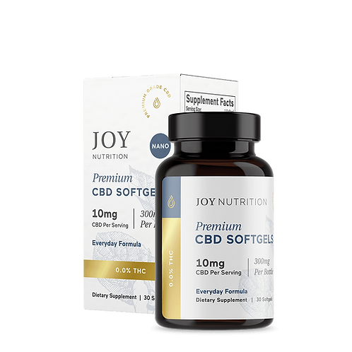 Premium Organic Softgels - Everyday formula