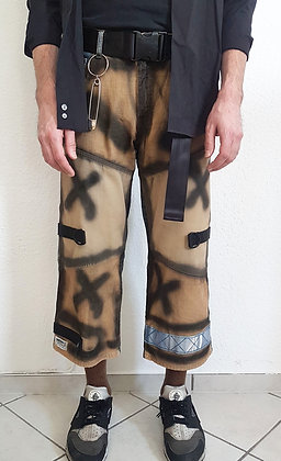 Sprayed nineties pants