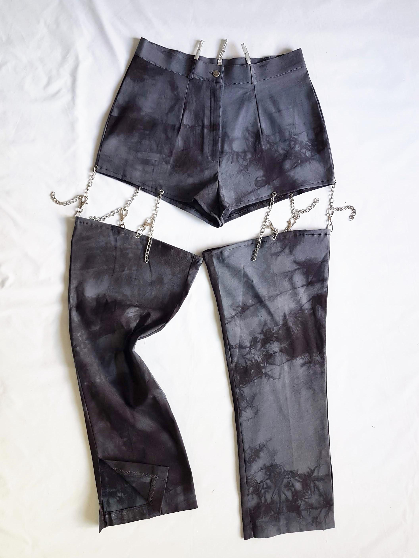 Thumbnail: Tie-dye and chains Pant L