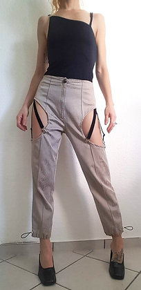 Pant with straps