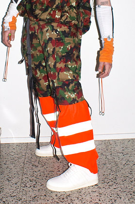 Camou + Orange Pants