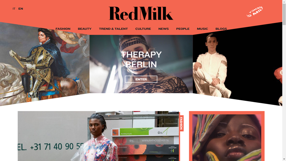 Interview: Red Milk Magazine