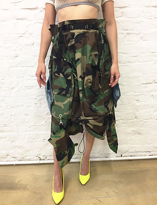 From military jackets to skirt