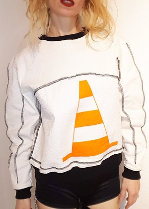 Traffic Cone Sweater