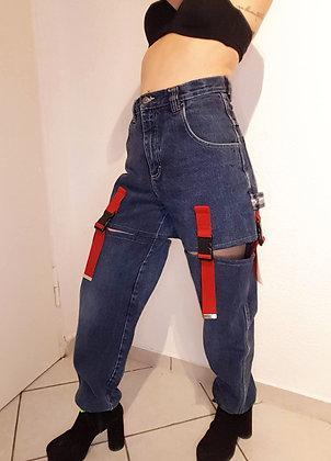 Vintage jeans reworked