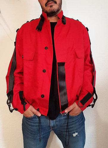 Workwear Jacket Backpack Red