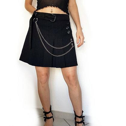 Chains Striped skirt