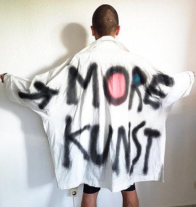 Sprayed jacket More Kunst