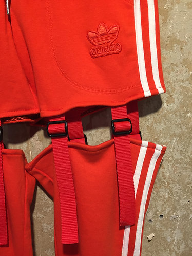 Reworked ADIDAS sports trousers
