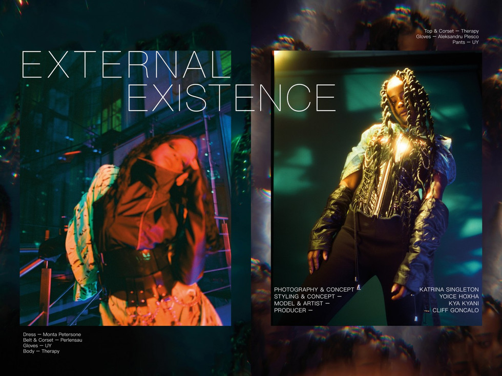 Œditorial for OE Magazine Berlin. External Existence