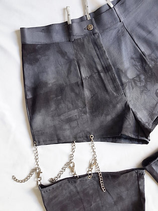 Tie-dye and chains Pant L