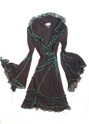 Silk Horror Dress