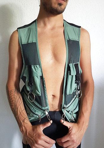 Work Vest Reworked - Green