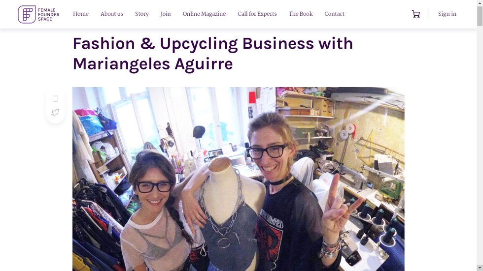 Fashion & Upcycling Business with Mariangeles Aguirre