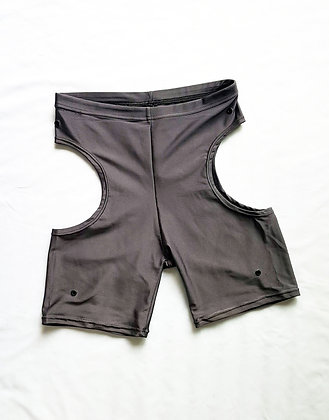 Cut-off leggings Lycra Grey