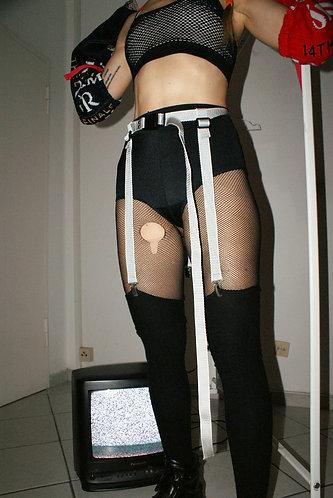 Suspender-harness for overknies