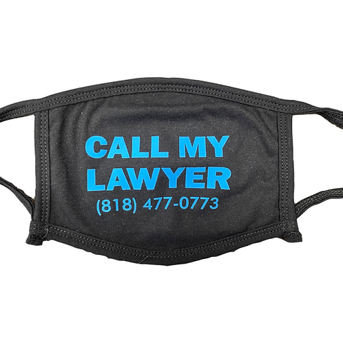 """copy of """"Call My Lawyer"""" Mask"""