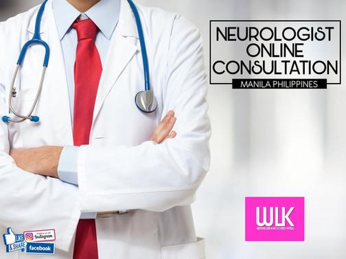 Online Consultation Neurologist Manila