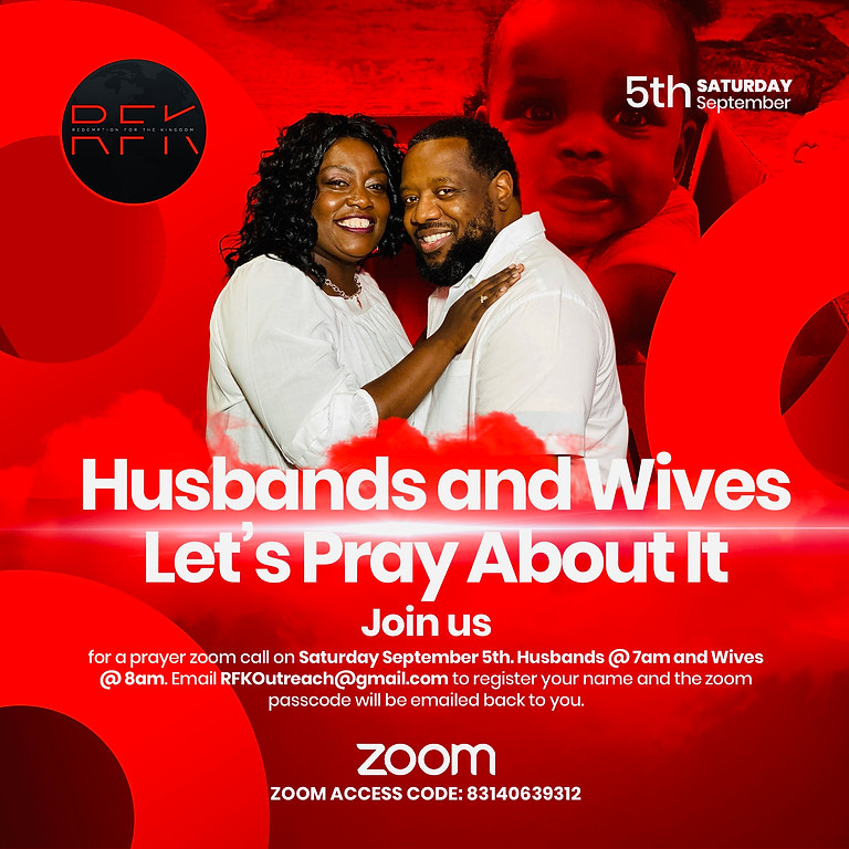 "Husbands and Wives ""Let's Pray About It"""