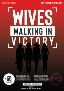 Wives Walking In Victory Conference Flye