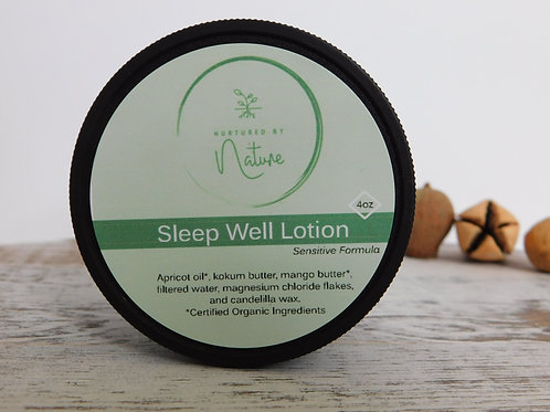 Sleep Well Lotion (Magnesium Lotion) Sensitive