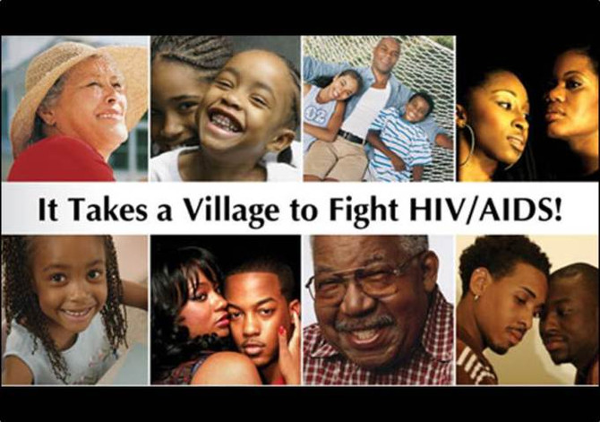 HIV: The Cure is in the Community.