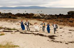 beach wedding galway