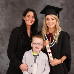 Graduation portrait kids.