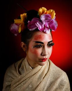 Oriental style make up