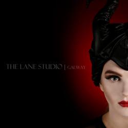 Maleficent theme make up