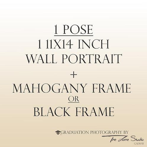 1 Pose - 11x14 Wall Portrait