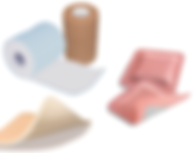 surgical ad wound care supplies, tape bandages dressing