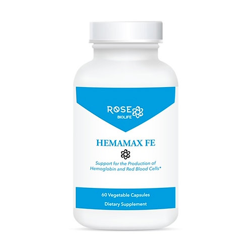 Hemamax Fe, 60 Vegetable Capsules
