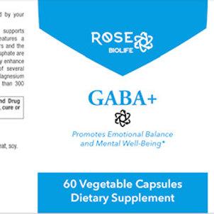 GABA+ 60 Veg Capsules