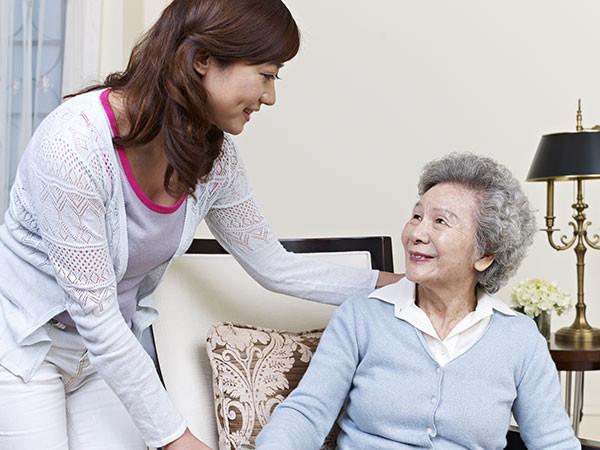 Caregiver for Parents